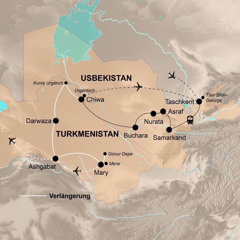 Usbekistan – Das Herz Zentralasiens