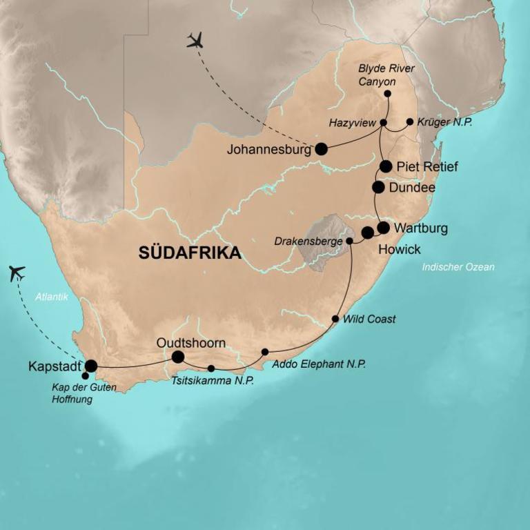 Südafrika – Eine Welt in einem Land