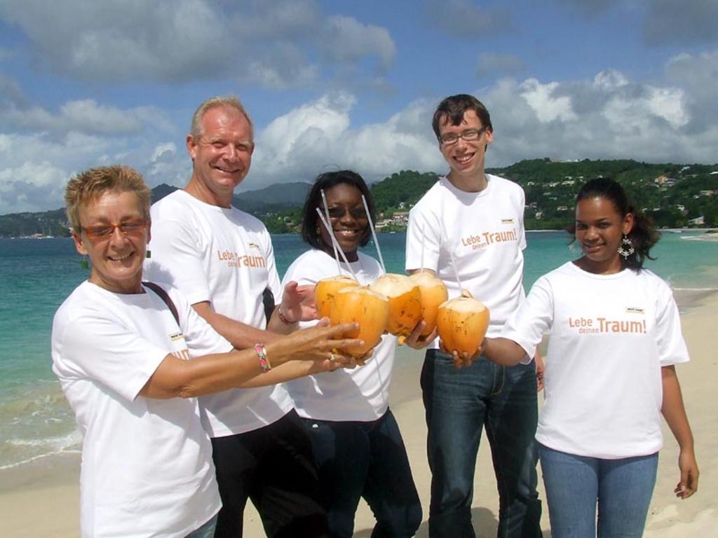 Unser Team in der Karibik