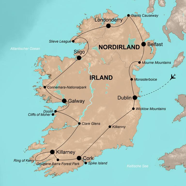 Irland und Nordirland – Die Grüne Insel