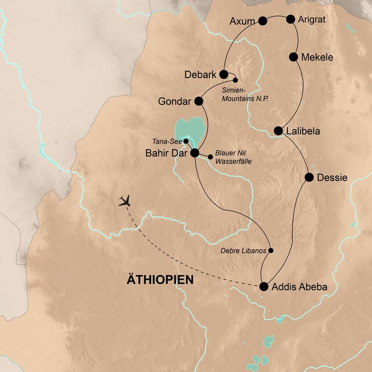 Äthiopien  – Der spannende Norden