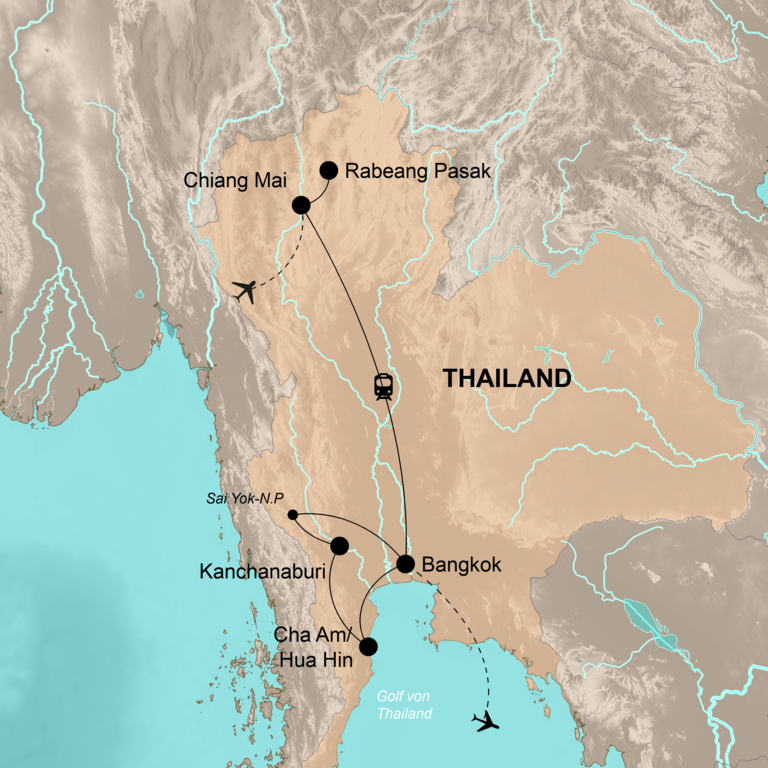 Thailand – Abenteuer im Land des Lächelns