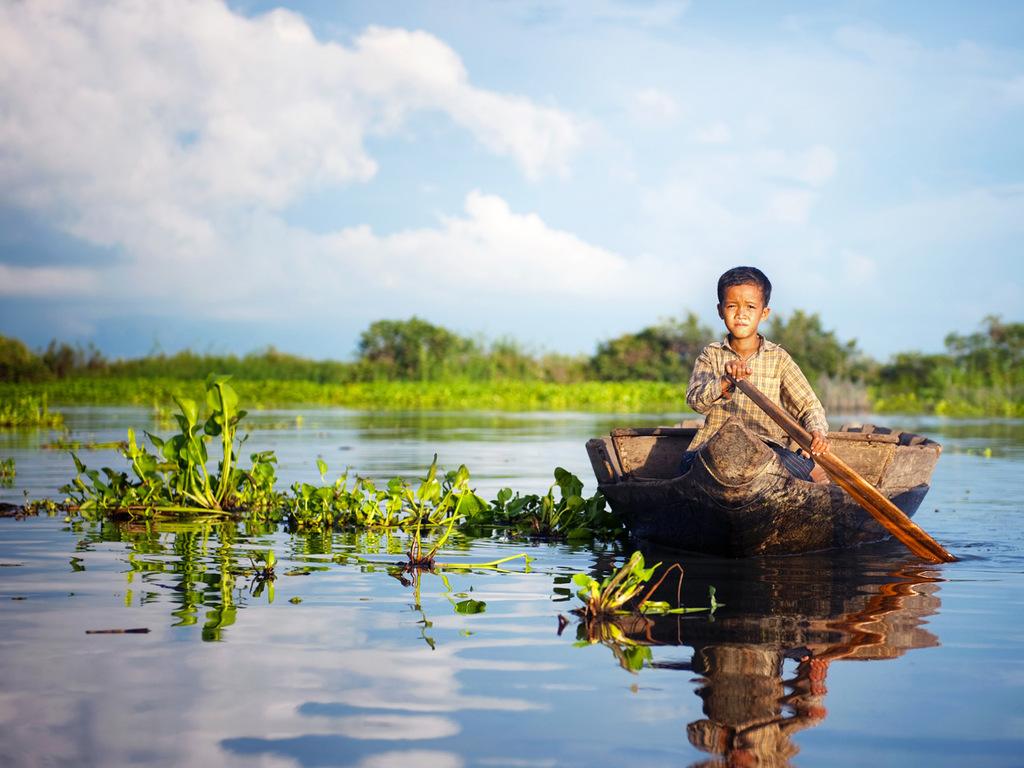 Siem Reap: freier Tag, Rückflug über Bangkok