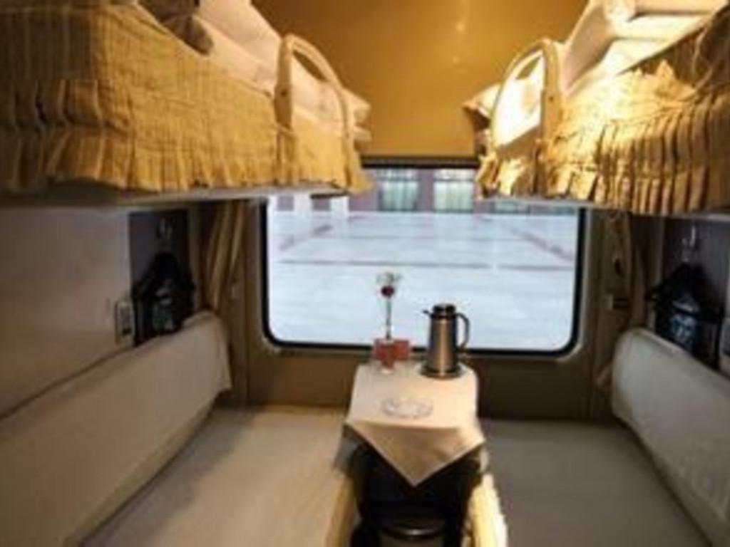 Beispiel: 4-Bett-Abteil der 1. Klasse