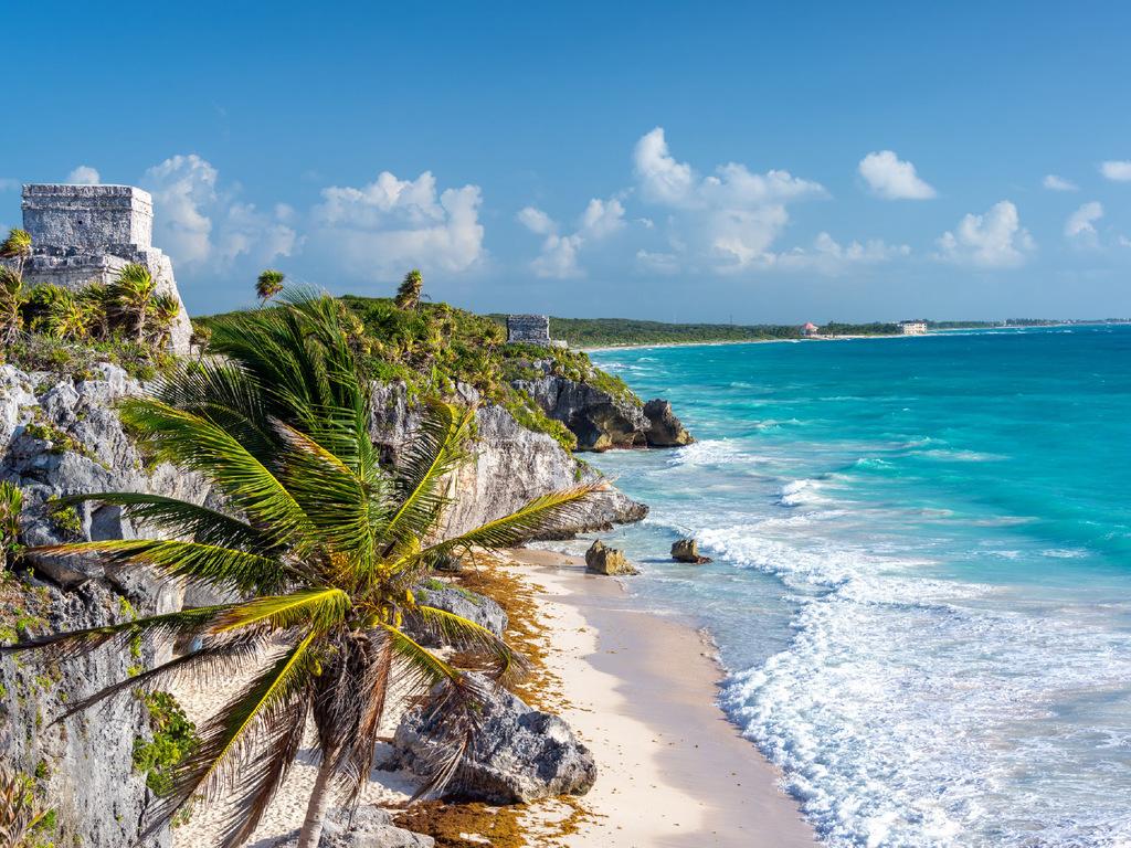 Puerto Morelos: frei zum Baden an der Riviera Maya