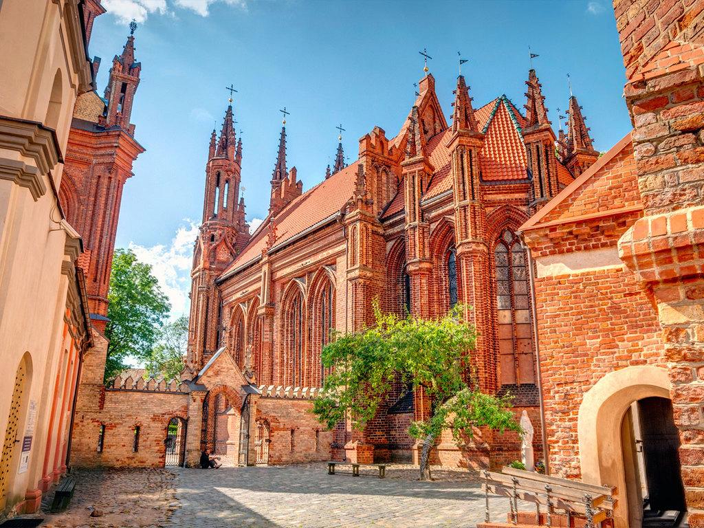 Vilnius: Stadtbesichtigung am Vormittag, Freizeit am Nachmittag
