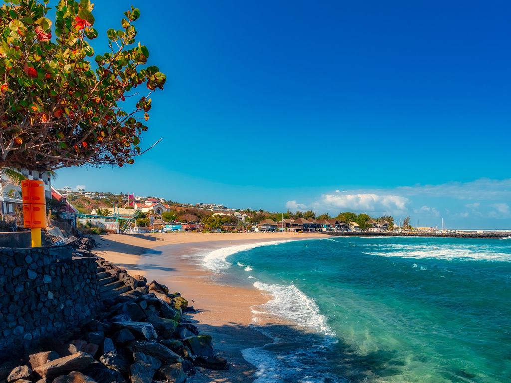 Saint-Gilles-les-Bains: freier Tag am Indischen Ozean