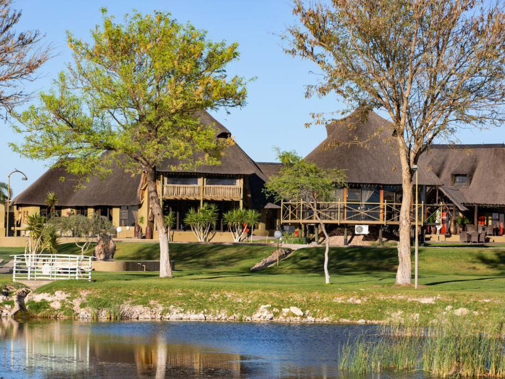 Lapa Lange Game Lodge **** in der Kalahari