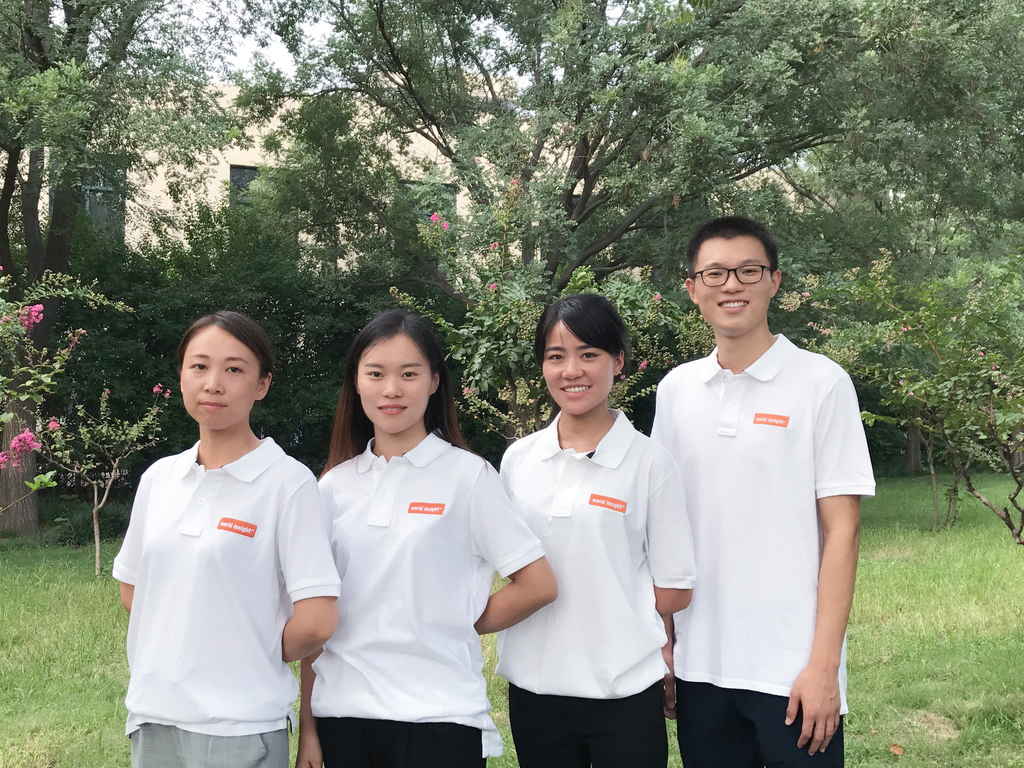 Unser Team in China.