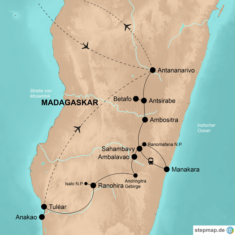 "Madagaskar – Der ""8. Kontinent"""