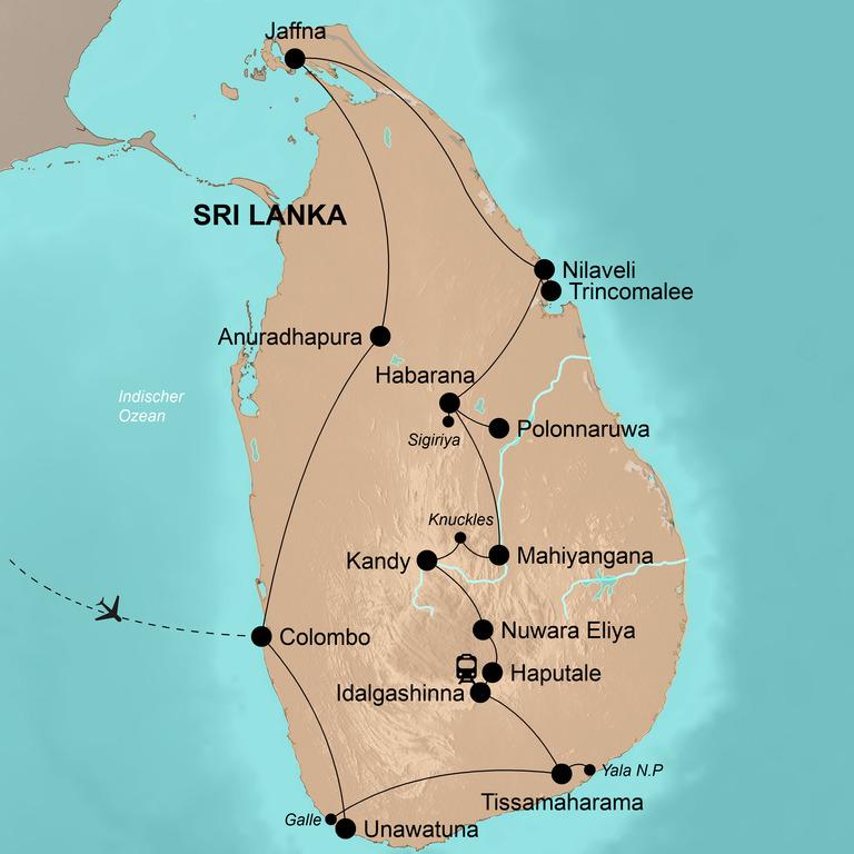 Sri Lanka – Die umfassende Reise