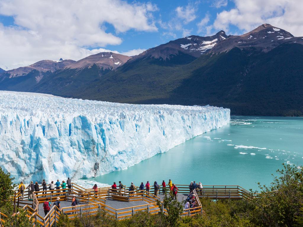 Puerto Madryn – El Calafate : Flug nach El Calafate, Perito Moreno-Gletscher