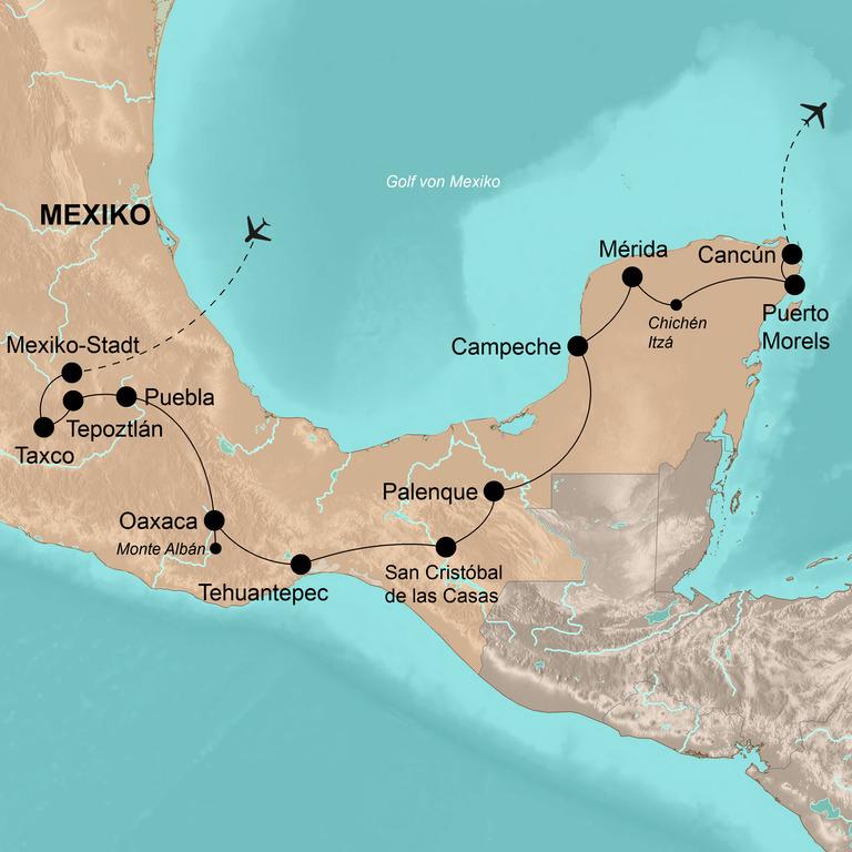 Mexiko – Viel Freiheit auf Mexikos klassischer Route