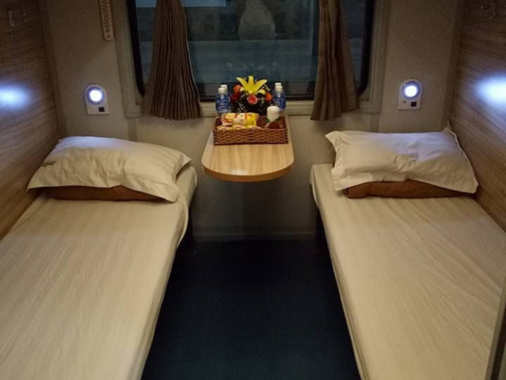 Nachtzug (Vierbettabteil, Etagenbetten)