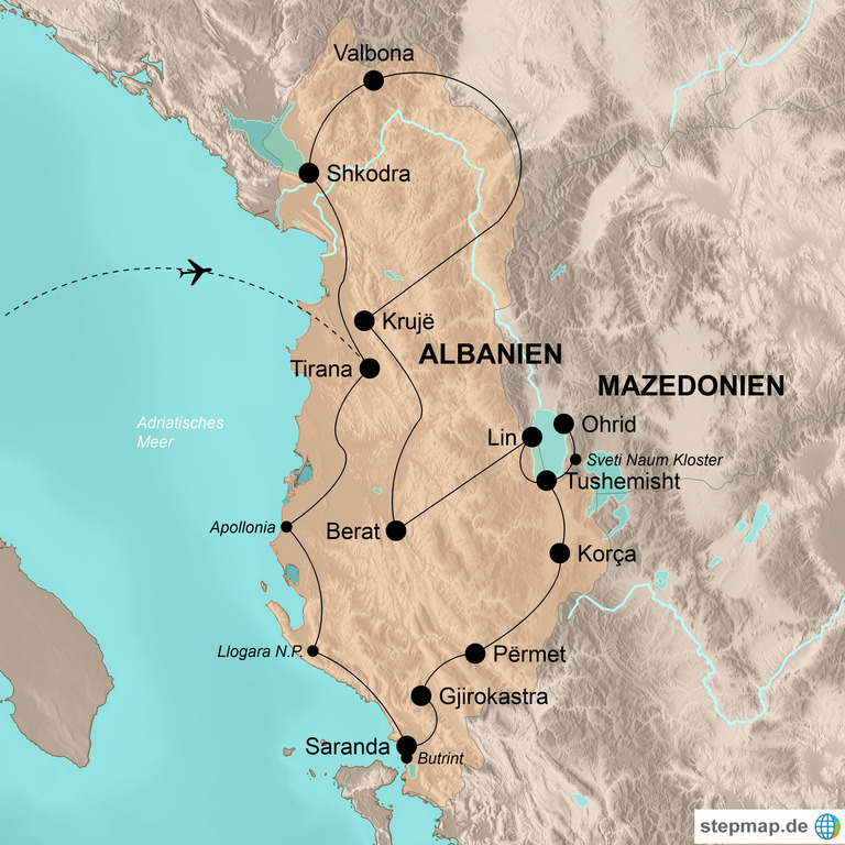 Albanien mit Nordmazedonien – Das letzte Geheimnis Europas