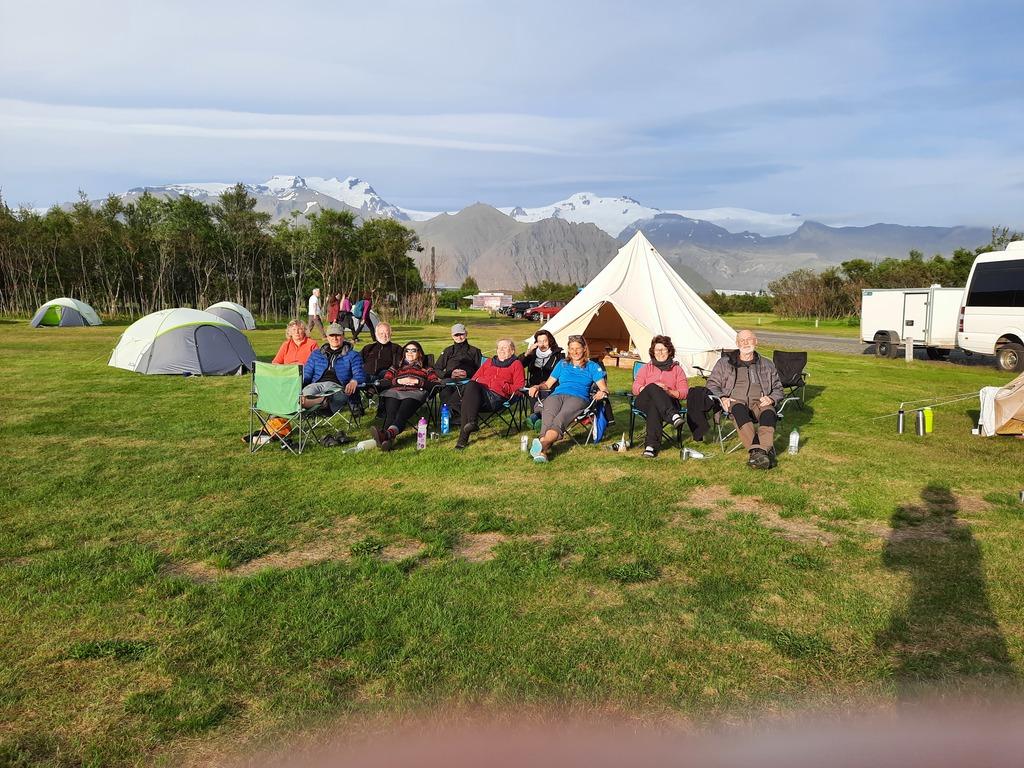 Campingplätze  in Island