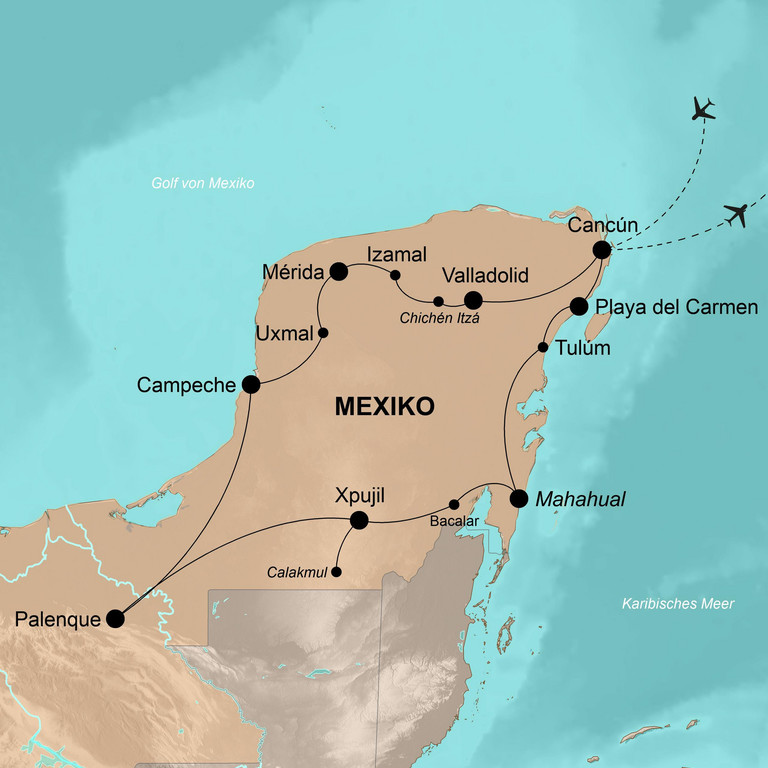 Kuba und Mexiko – Machos, Mayas, Mojitos