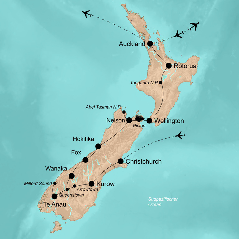 Neuseeland und Samoa – Lost in Paradise