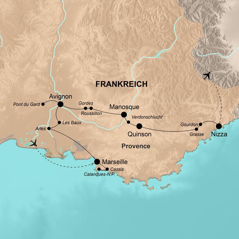 Frankreich: Provence – Fest für die Sinne
