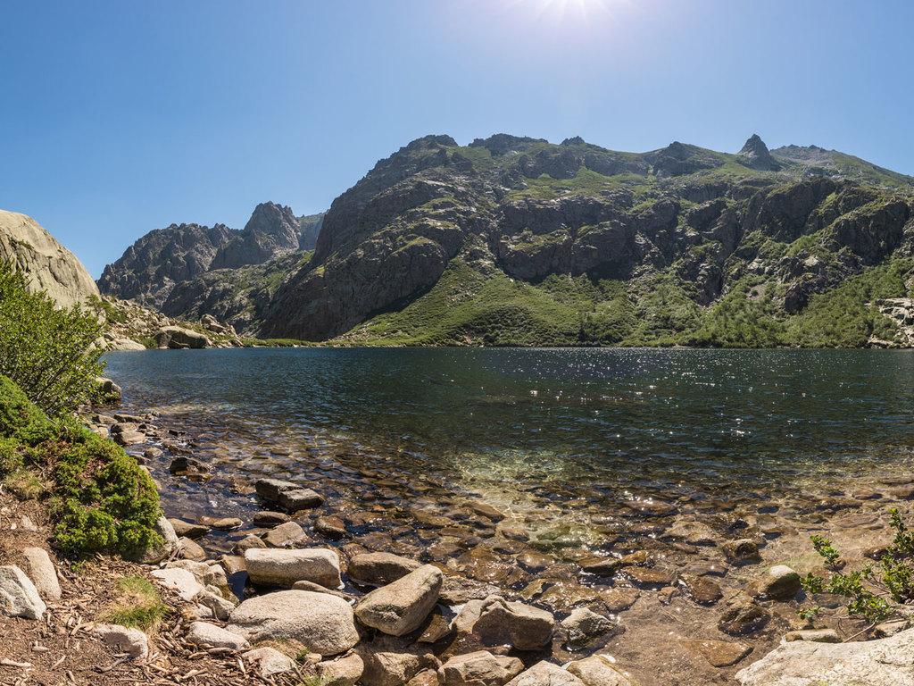 Ausflug in das Restonica-Tal: Wanderung zum Lac de Melo, gemeinsames Abendessen im Camp