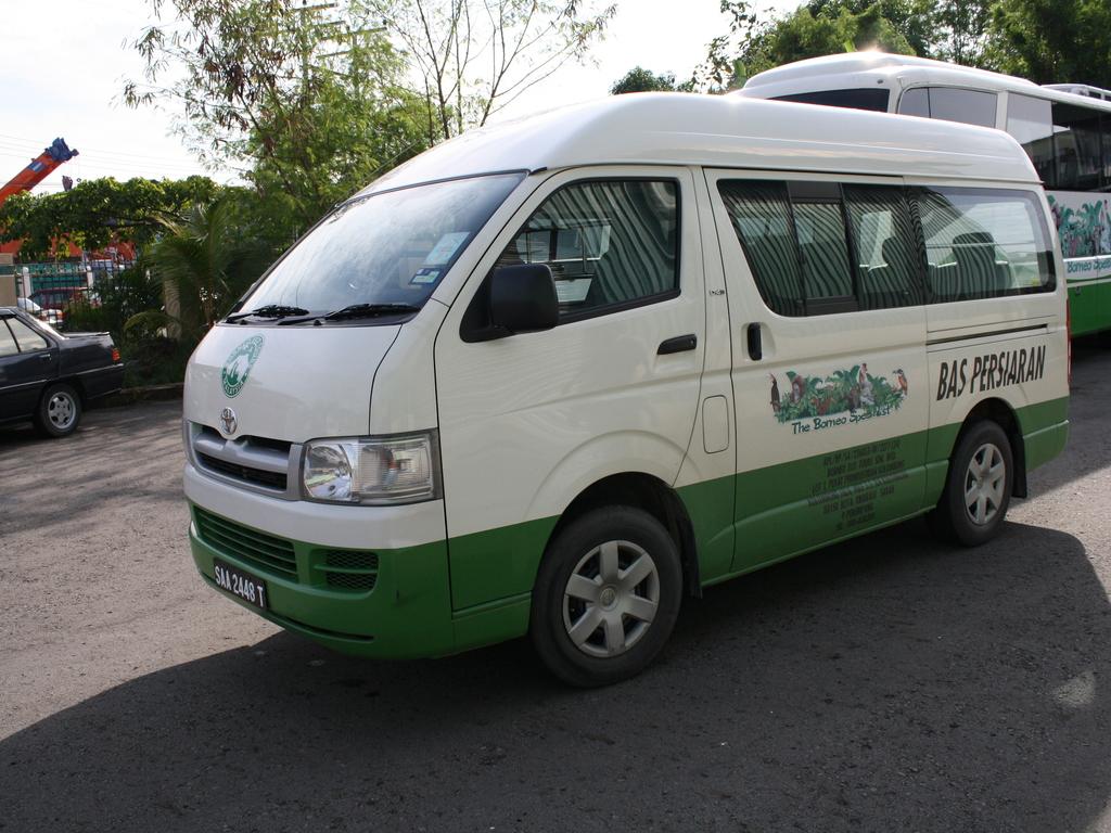 Einer unserer Kleinbusse in Malaysia