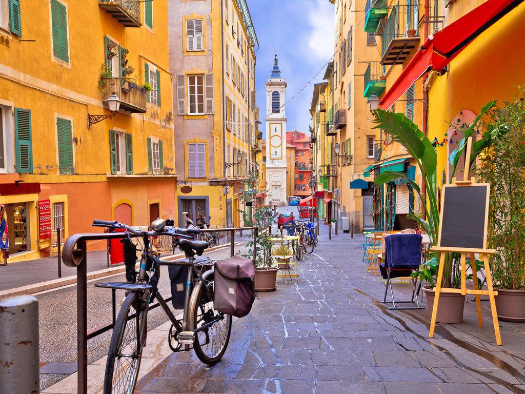 Nizza: Stadtbesichtigung per Fahrrad, Freizeit am Nachmittag