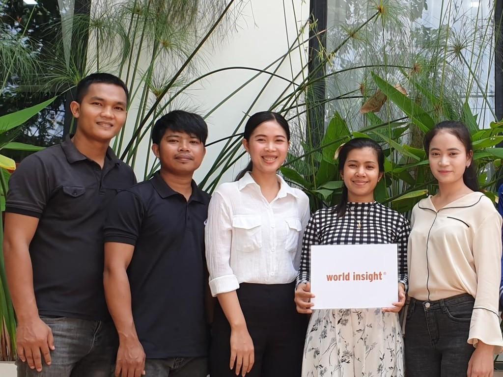 Unser Team in Kambodscha