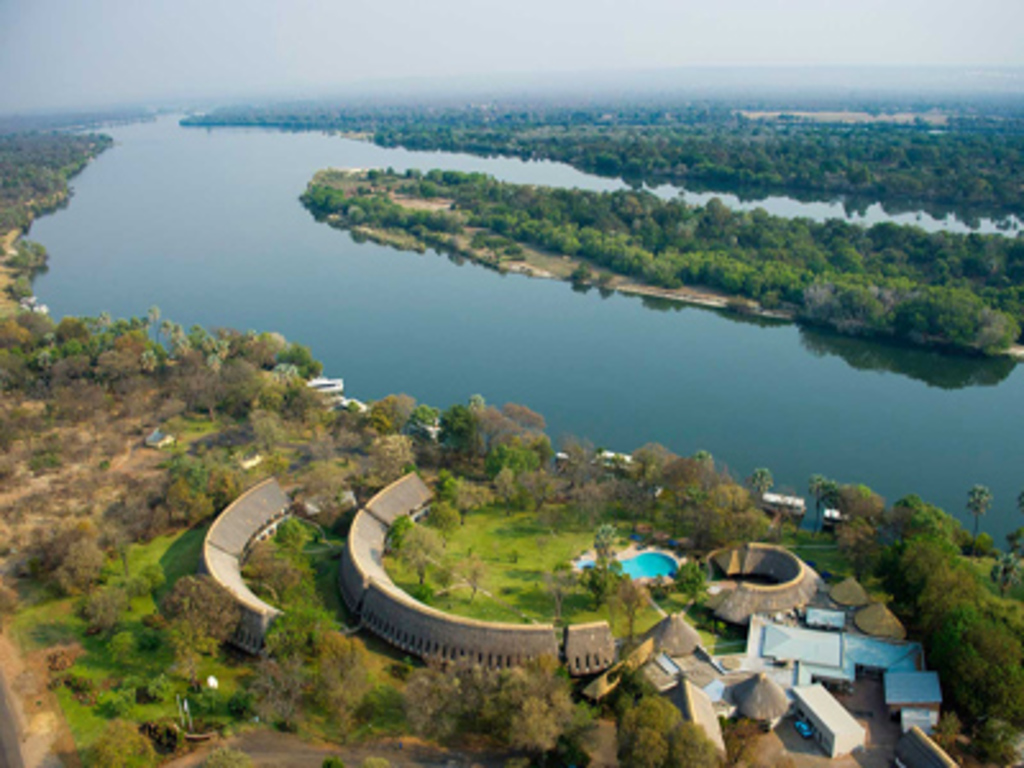 A'Zambezi River Lodge **** in Victoria Falls