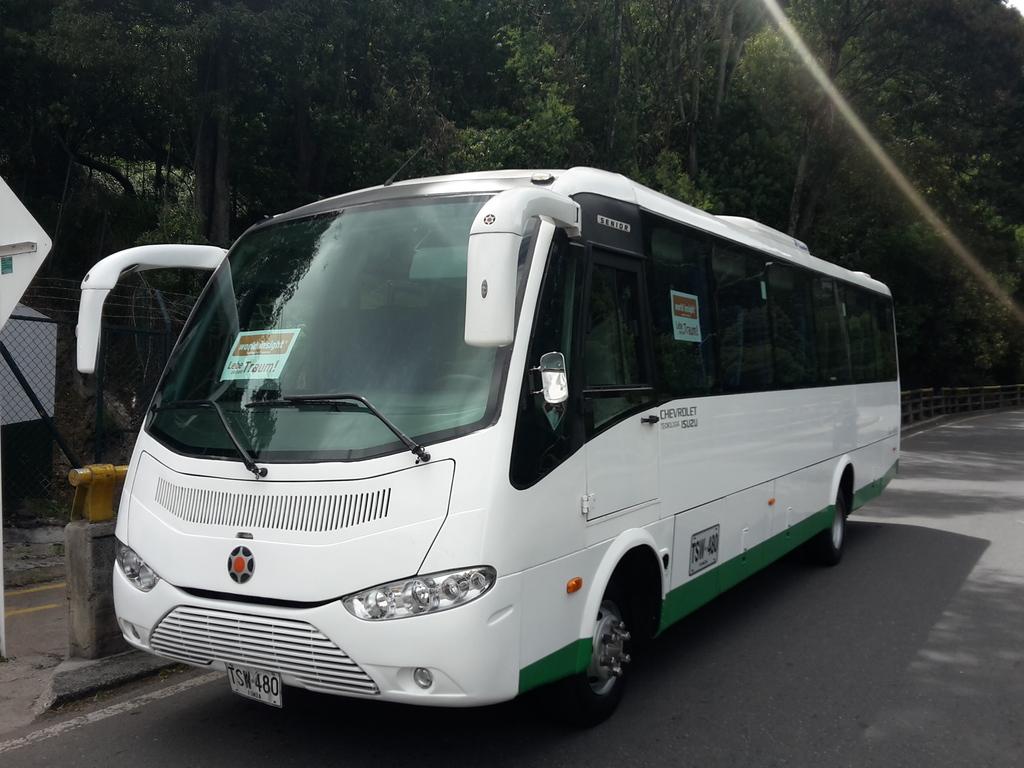 Einer unserer Busse in Kolumbien.