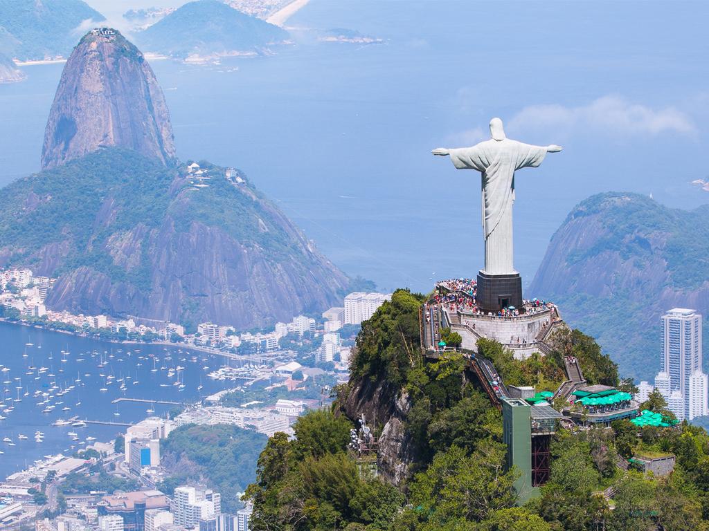 Rio de Janeiro : Mit der Seilbahn zum Zuckerhut und auf den Corcovado