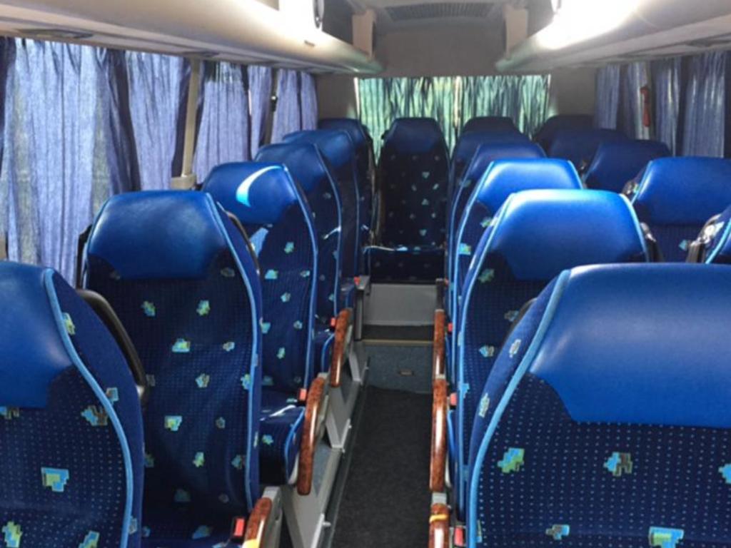 Beispiel für unsere Minibusse (Innenraum)