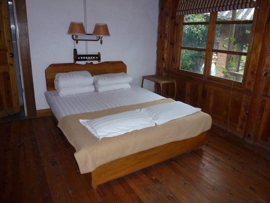 einfaches Gästehaus in Bengdiwan