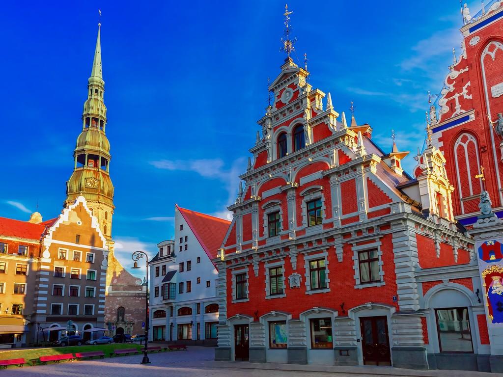 Riga: Besichtigung Riga, Nachmittag frei