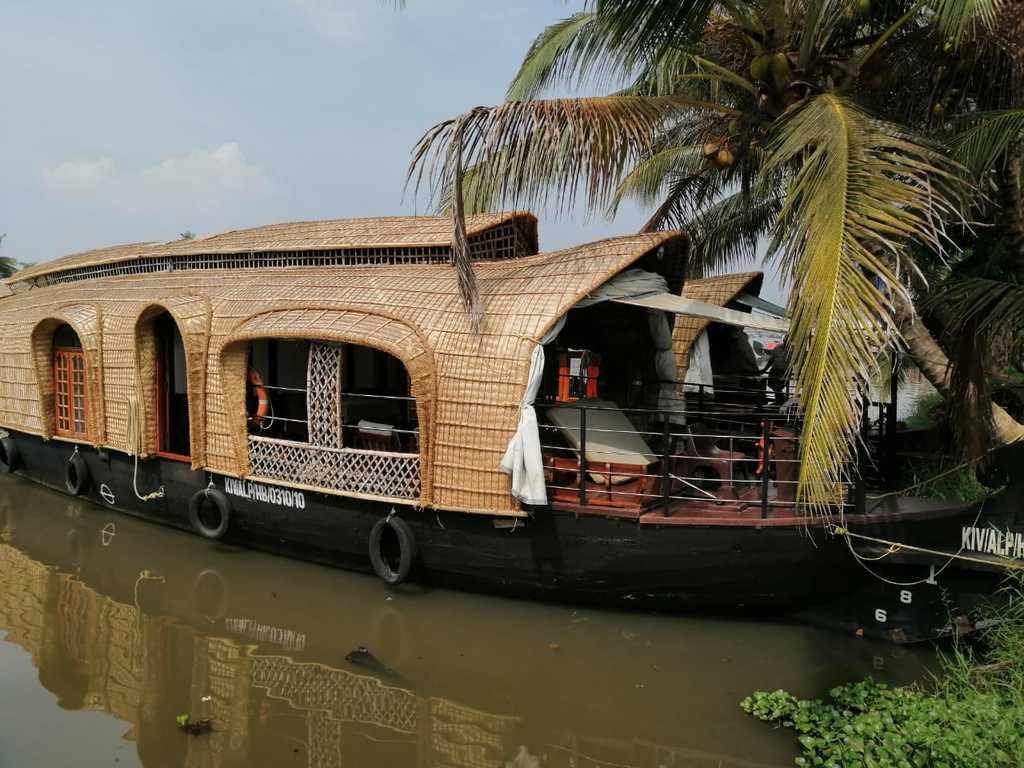 Hausboot in Backwaters