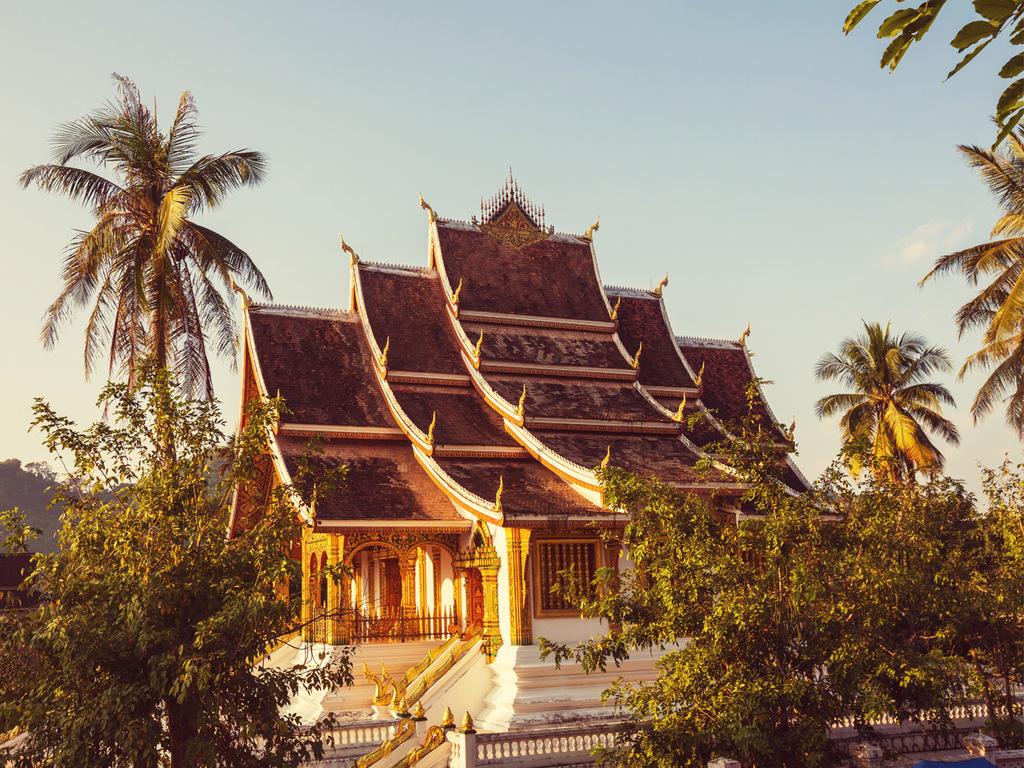 Luang Prabang: Fahrradtour und Besteigung des Phousi-Hügels