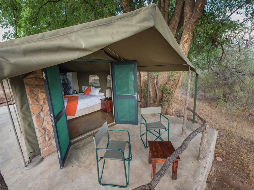 Serolo Safari Tented Lodge ***(*) in Wildreservat Tuli Block