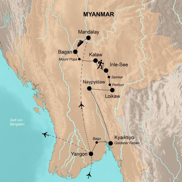 Myanmar – Begegnungen im Goldenen Land