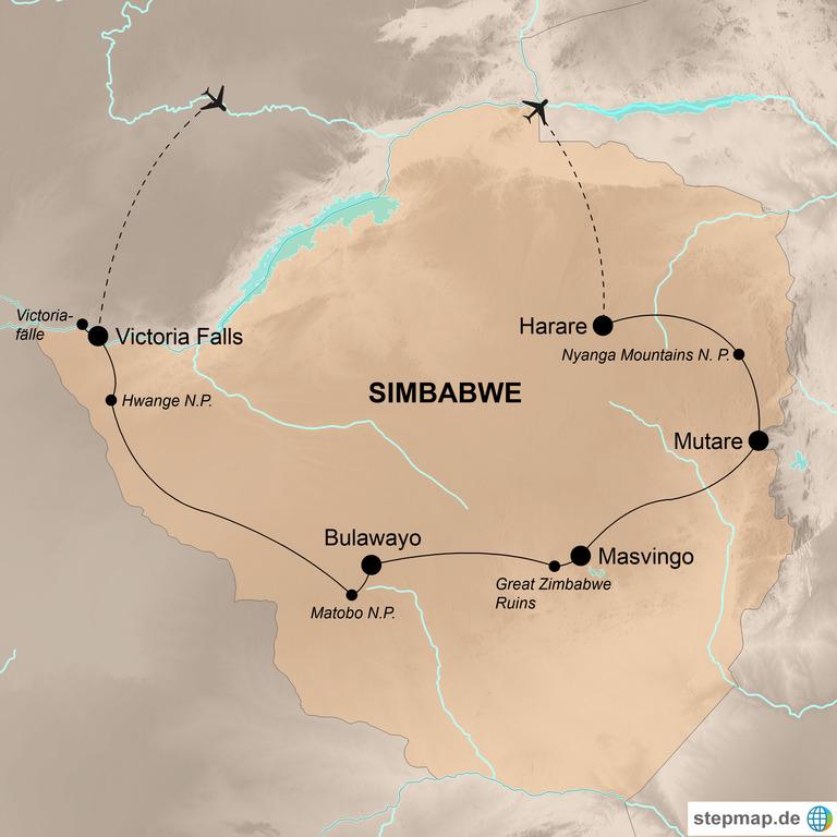 Simbabwe – Im Herzen des südlichen Afrika