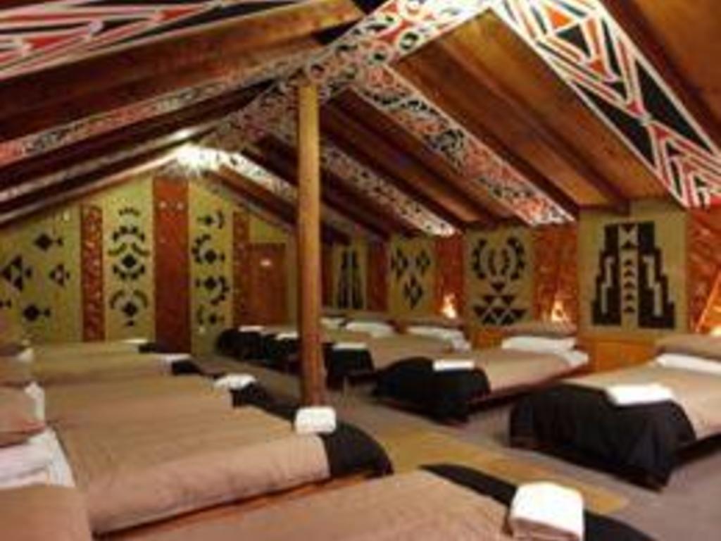 Marae im Whakarewarewa Village