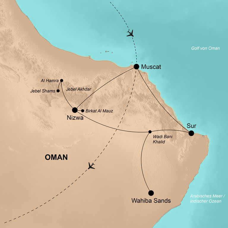Oman – Die umfassende Reise