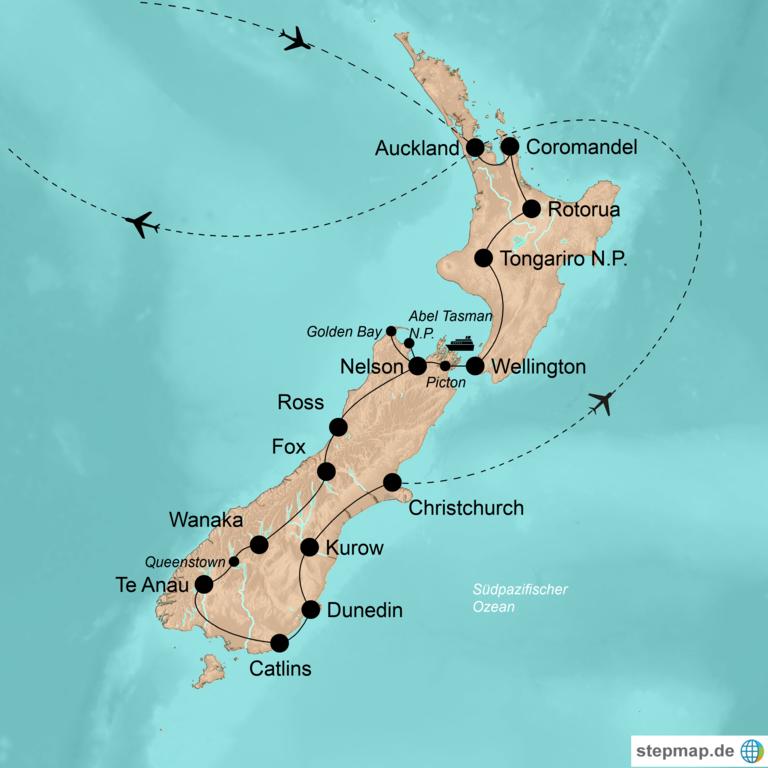 Neuseeland – Abenteuer am anderen Ende der Welt