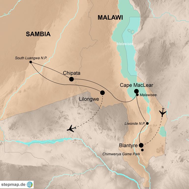 Malawi und Sambia – Das unentdeckte Afrika