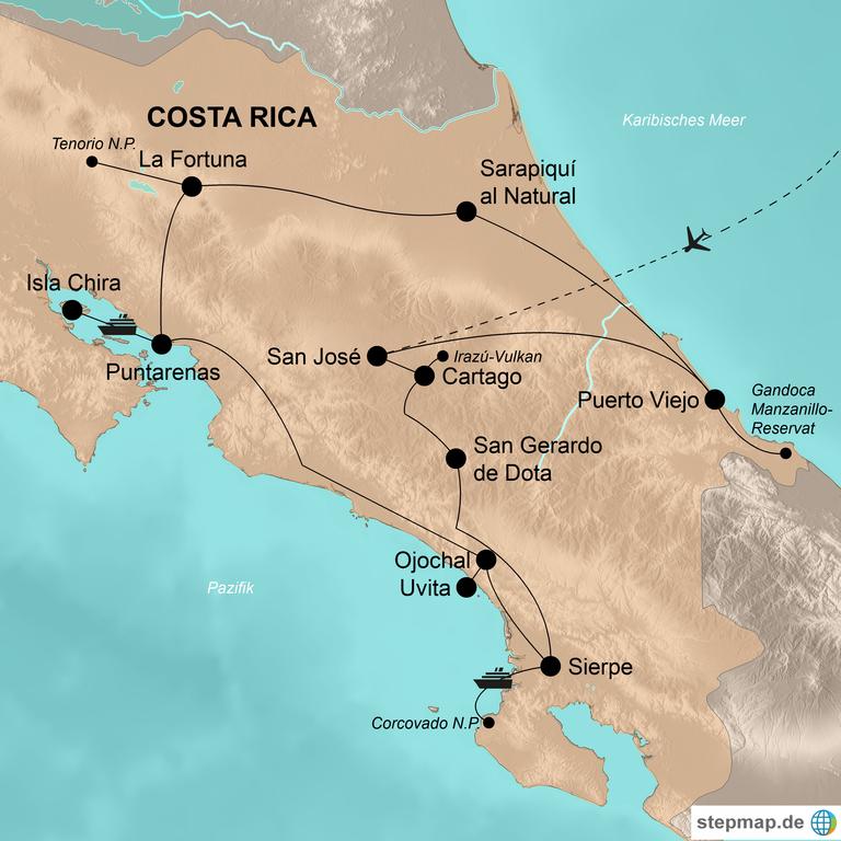 Costa Rica – Unentdeckte Abenteuer