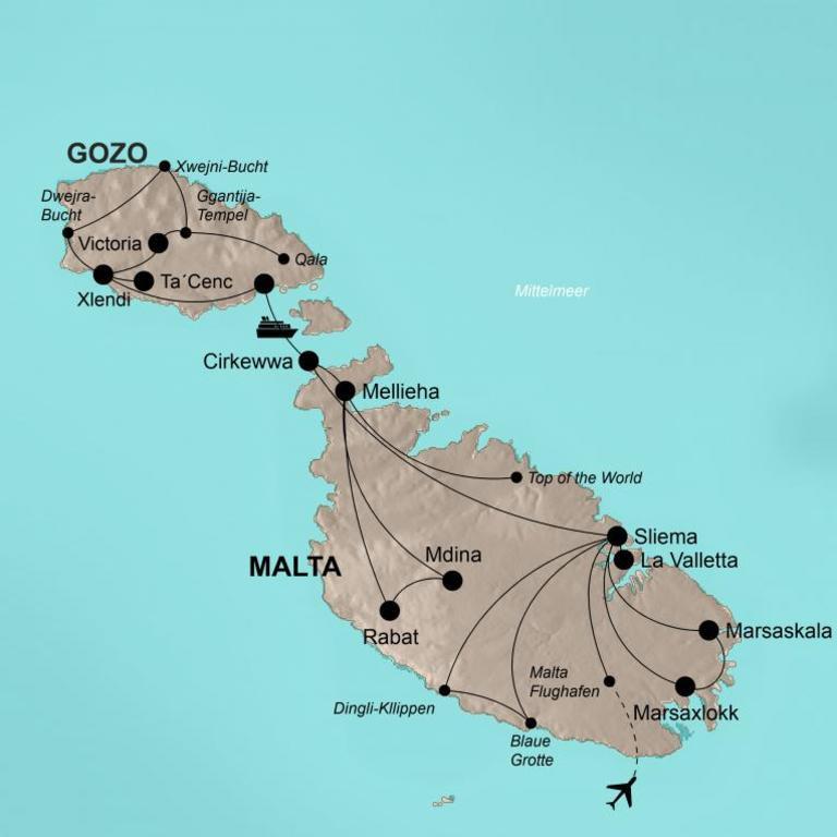 Malta mit Gozo – Brücke zum Orient