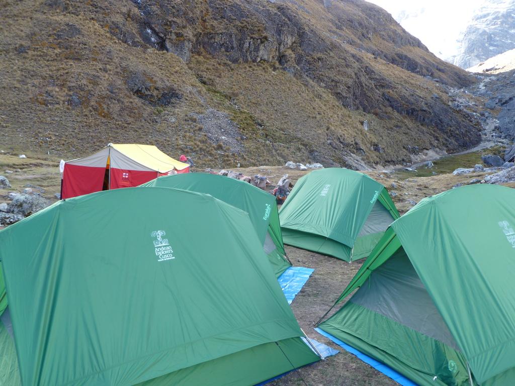 Zelte Salkantay Trek  in Peru
