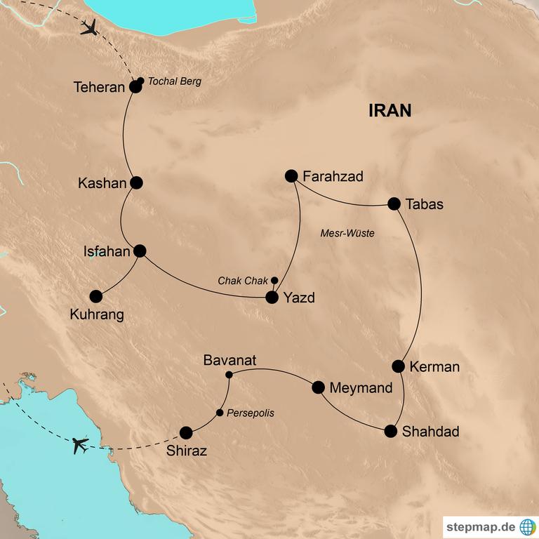 Iran – Abenteuer Persien