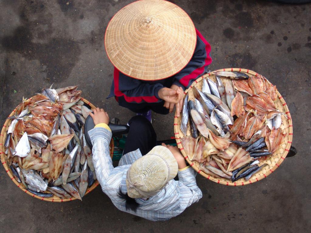 Chau Doc: freier Vormittag, Fahrradtour mit Dorfbesuch