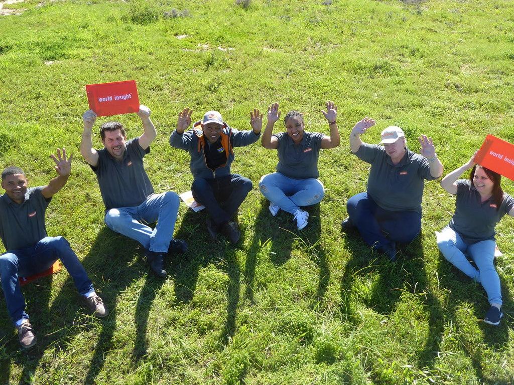 Unser Team rund um Thomas in Südafrika