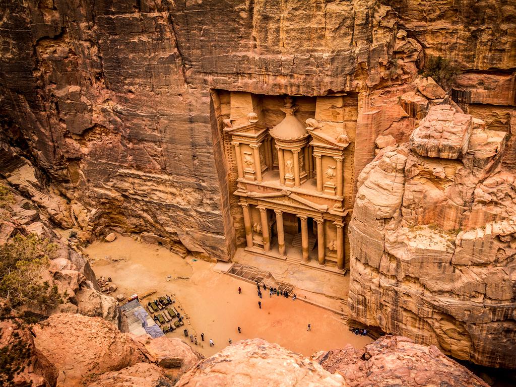 Wadi Musa/ Petra: Felsenstadt Petra
