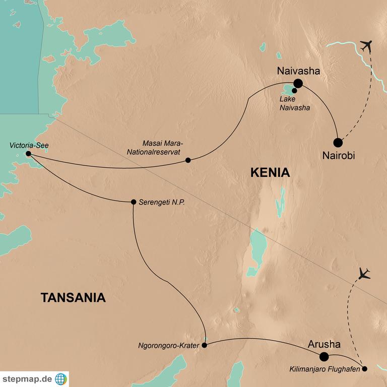 Tansania und Kenia – Die Große Tierwanderung